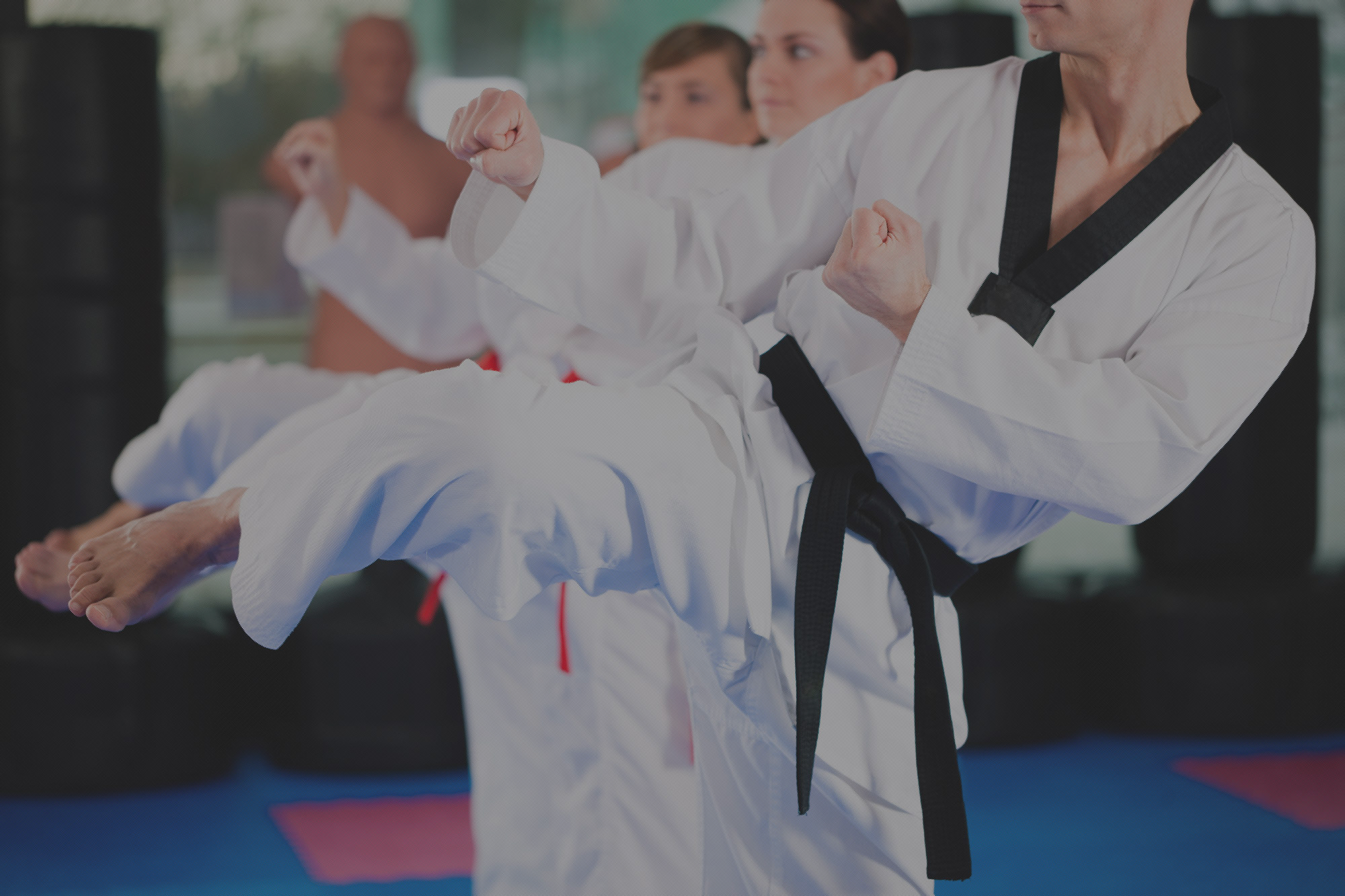 Karate Instruction Image